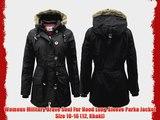 4509408c31f Bench Women's Razzer Ii B Parka Long Sleeve Jacket Jacket Black ...