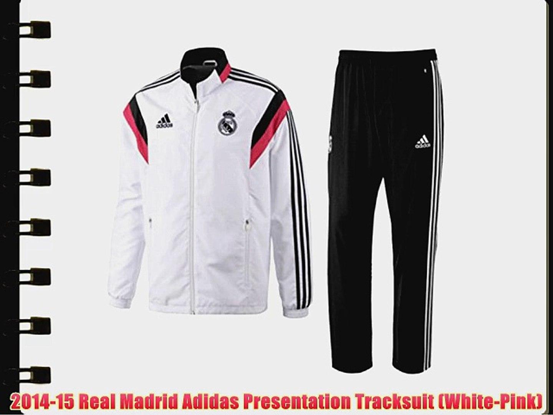 2014 15 Spain Adidas Presentation Tracksuit (Black) : adidas