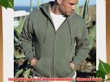 Fruit of the Loom Zip Hooded Sweatshirt - Charcoal Small