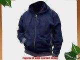 Blackrock Zipped Hoodie Sweatshirt Sylish Two Tone Colour (X-Large 46-48)