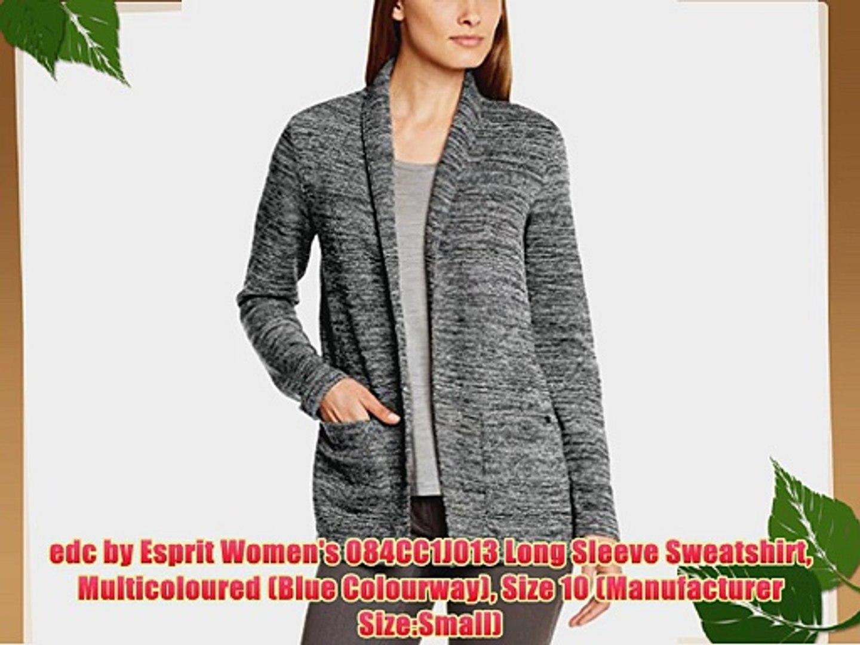edc by Esprit Womens Sweater Long Sleeve Sweatshirt