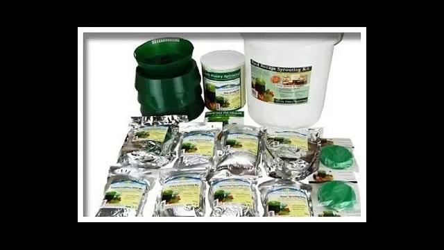 Handy Pantry Food Storage Sprouting Kit   Certified Organic