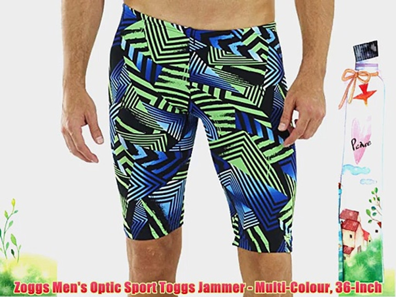 Zoggs Men's Optic Sport Toggs Jammer - Multi-Colour 36-Inch