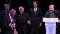 Mgr Pascal Gollnisch lors du grand rassemblement de soutien aux Chretiens d'Orient
