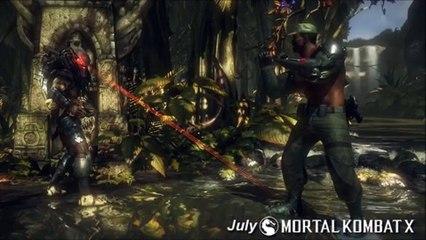 Jax Carl Weathers, Infrared Scorpion, and Commando Johnny! de Mortal Kombat X