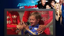 America's Got Talent 2015 ● Wild West Express - Group Performs Gymnastics While Riding Horses