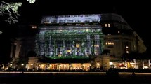 One Night Only Visual and Musical  Extravaganza at The Fullerton Hotel Singapore