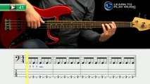 Ex041 How to Play Bass Guitar   Slap Bass Guitar Lessons for Beginners