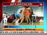 Baba Ramdev reveals his wrestling prowess