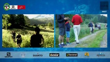 MARATHON- Plateau 3 - Passage à Tré le Champ - Chamonix Marathon du Mont-Blanc