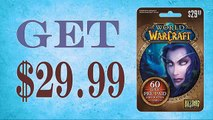 Redeem World of Warcraft (WOW) 60 day Subscription card online generator $30 [Tested method]