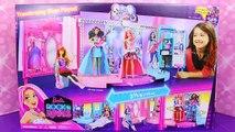 NEW Barbie Rock N Royals Folding Concert Stage Dollhouse Rockstar