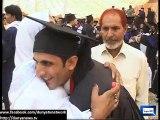 Gold Medalist kisses parents' feet at GCU Faisalabad Convocation