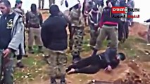WARNING- Syrians Executed By FREE SYRIAN ARMY Terrorists From Turkey - HUGO CHAVEZ REJECTS FSA