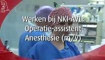 NKI-AVL, Anesthesie Medewerker