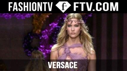 Versace Show ft. Kendall Jenner & Karlie Kloss | Paris Haute Couture Fall/Winter 2015/16 | FashionTV