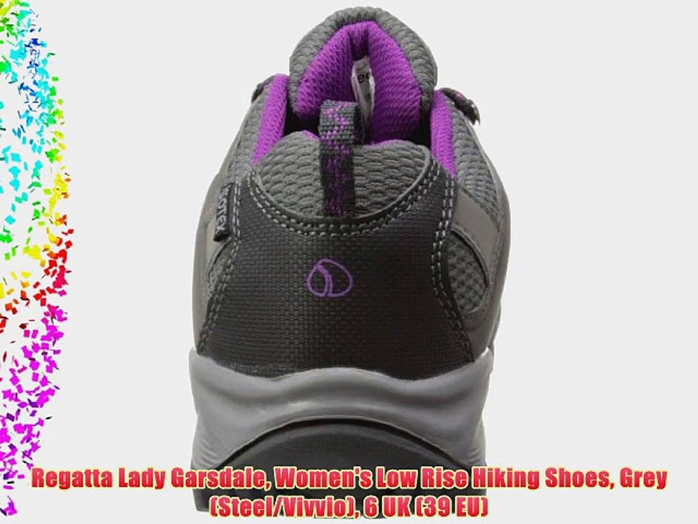meer foto's nieuwe aankomst rijgen in Regatta Lady Garsdale Women's Low Rise Hiking Shoes Grey (Steel/Vivvio) 6  UK (39 EU)
