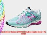 New Balance Womens W890PB3 Pink/Blue Running Shoes 8 UK 41.5 EU