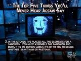 Saw III's Tobin Bell aka Jigsaw