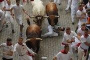 Pampelune : onze personnes blessées dans une course avec les taureaux