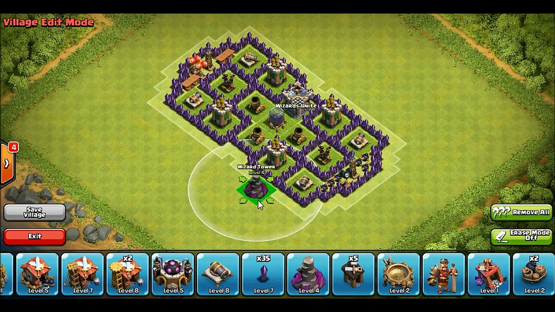Clash Of Clans Th7 No Barbarian King Dark Elixir Farming Base Video Dailymotion