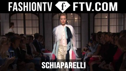 Schiaparelli | Paris Haute Couture Fall/Winter 2015/16 | FashionTV