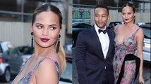 Jetsetters Chrissy Teigen And John Legend Hit Paris Fashion Week