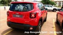 NEW Jeep Renegade   detalhes das versões Sport e Trailhawk   www car blog br
