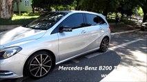 NEW Mercedes Benz B200 Turbo Sport   www car blog br mp4