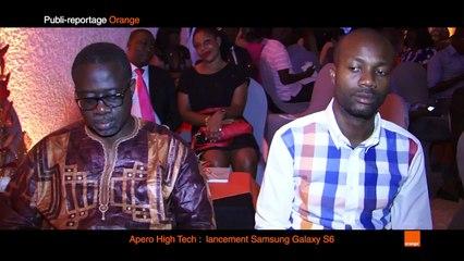 Publi-reportage lancement Samsung Galaxy S6