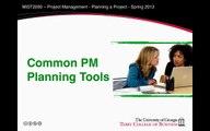 Project Management Planning Documents