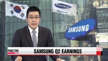 Samsung Electronics Q2 earnings improve on-quarter