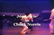 Chuck Norris vs. Joe Lewis - Karate Fight (International 1967)