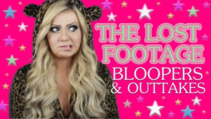 THE LOST FOOTAGE - BLOOPERS, BOOBS AND OUTTAKES