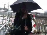 Umbrella vs. Scottish weather