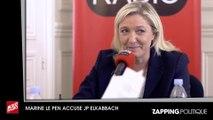 Marine Le Pen affirme que son père Jean-Marie Le Pen a reçu le soutien de Jean-Pierre Elkabbach
