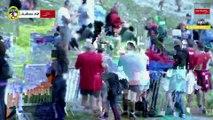 Cross- Plateau 6 - Arrivée 2éme & 3ème Homme - Chamonix Marathon du Mont-Blanc 2015
