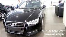 NEW Novo Audi A3 2014 Sport   www car blog br