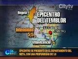 Temblor de 5.5 grados en Bogotá