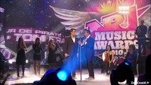 Sofia Essaidi and Robbie Williams   NRJ Music Awards 2010 Prix Special Robbie Williams