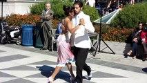 Argentine Tango in Yerba Buena Gardens. Argentine Tango San Francisco