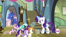 [HD] My little Pony:FiM-Sweetie belle´s time travel with Luna (For Whom the Sweetie Belle Toils)
