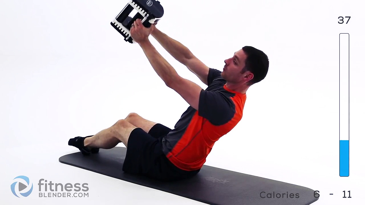 Advanced Abs Workout – 5 Minute Weighted Abs Workout