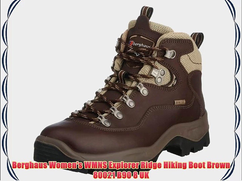 latest discount shop reliable quality Berghaus Women's WMNS Explorer Ridge Hiking Boot Brown 80021 B90 8 UK