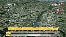 VIDÉO- Le profil de la 5e étape entre Arras et Amiens