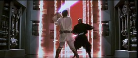Star Wars Episode 1 light saber fights aren't realistic! More a nice dance Ballet..