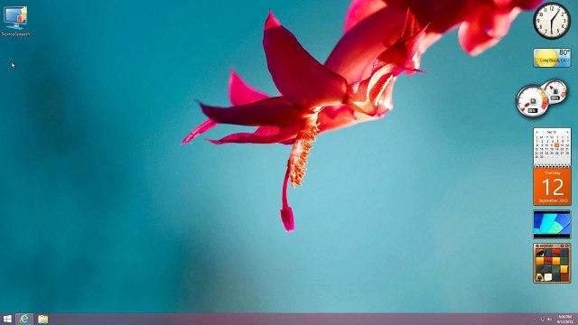Windows 8.1 | Add Back Desktop Gadgets