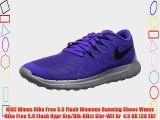 NIKE Wmns Nike Free 5.0 Flash Womens Running Shoes Wmns Nike Free 5.0 Flash Hypr Grp/Blk-Rflct