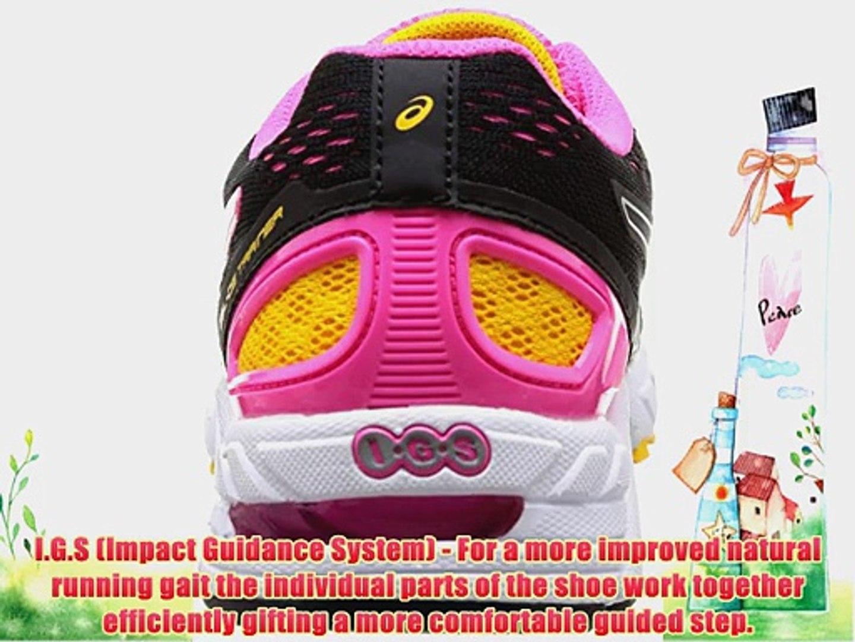 ASICS Gel-Ds Trainer 19 Women Training Running Shoes Black (9001-Black/White/Neon Pink) 5 UK
