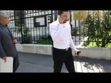 درگیری لفظی یک ایرانی با یکی از سفیرای جمهوری اسلامی مقابل سفارت ایران در اتریش